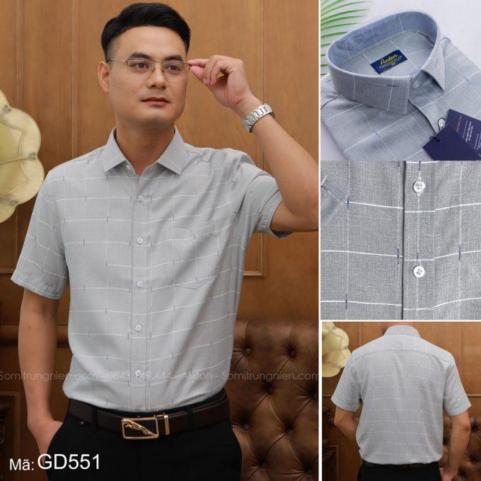 Cách chọn áo sơ mi nam trung niên đẹp